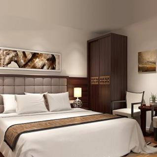 FIW10 : Modern Natural Wood Grain Hotel design