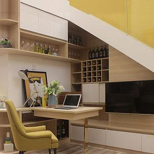FILD32:小さな住居用アパートのための現代的なサイドボード