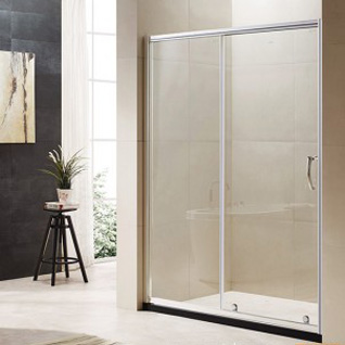 OP61-L21LL: The Breer Series Glass Shower Room