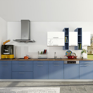 FIK71 : Modern Colorful High Gloss Lacquer Kitchen Cabinet