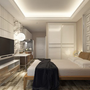FIW12 : Comfortable and Warm Hotel Apartment