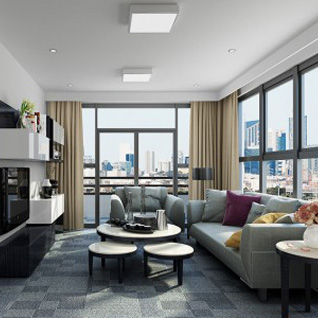 FIW13 : Modern Comfortable and Well-Equipped Hotel Apartment