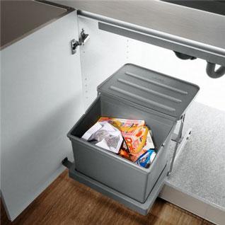 FIK151 : Automatic Sink Cabinet Waste Bin